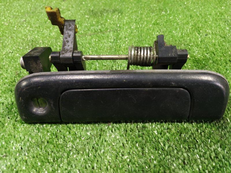 Ручка двери внешняя Toyota Hiace KZH106G 1KZTE 1994 передняя правая (б/у)