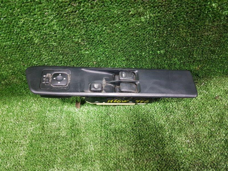 Блок управления стеклами Mitsubishi Pajero Io H66W 4G93 1998 передний правый (б/у)