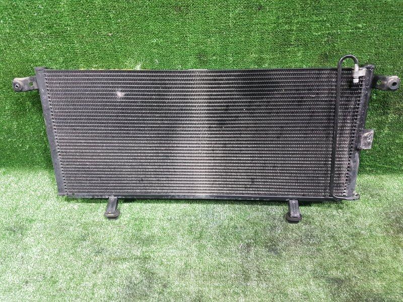 Радиатор кондиционера Mitsubishi Pajero Io H66W 4G93 1998 передний (б/у)