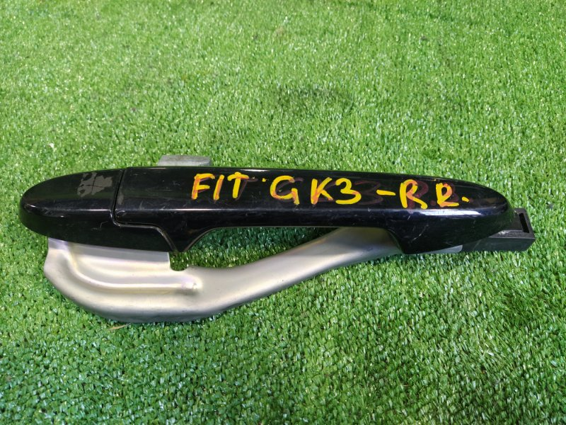 Ручка двери внешняя Honda Fit GK3 L13B задняя правая (б/у)