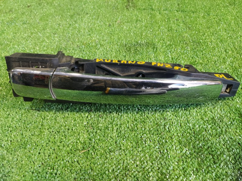 Ручка двери внешняя Nissan Murano PNZ50 VQ35DE задняя левая (б/у)
