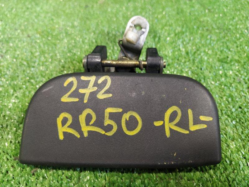 Ручка двери внешняя Nissan Terrano RR50 QD32ETI 1996 задняя левая (б/у)