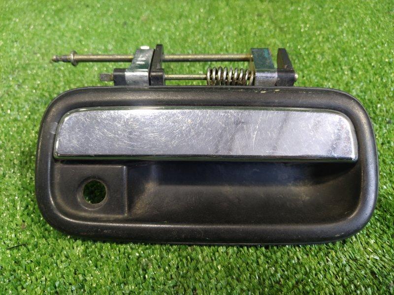 Ручка двери внешняя Toyota Land Cruiser Prado VZJ95 1KZTE передняя правая (б/у)