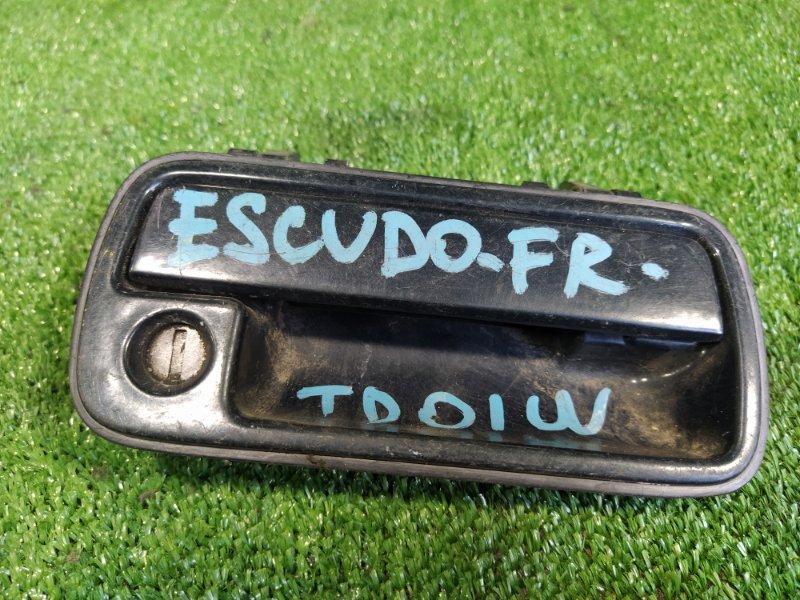 Ручка двери внешняя Suzuki Escudo TD01W G16A передняя правая (б/у)