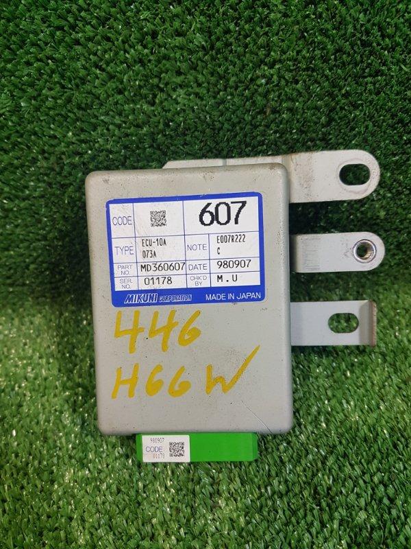 Электронный блок Mitsubishi Pajero Io H66W 4G93 1998 (б/у)