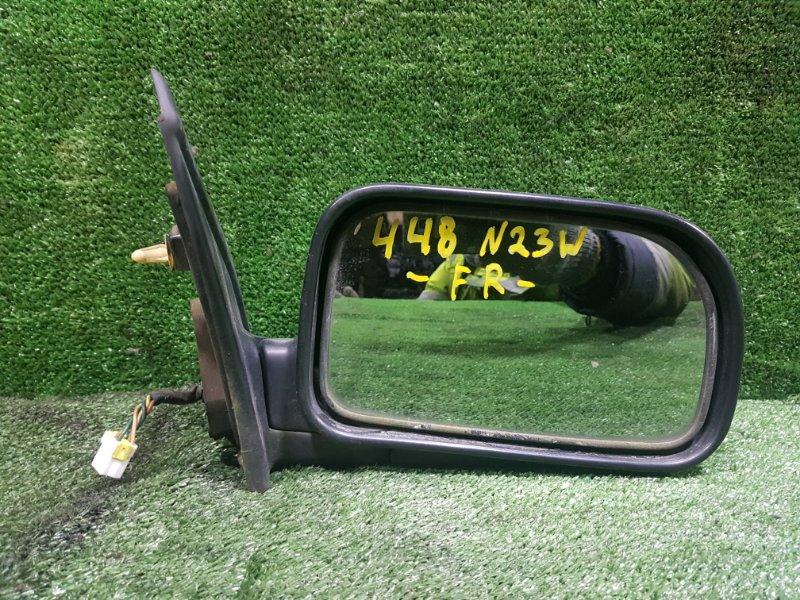 Зеркало Mitsubishi Rvr N23WG 4G63 1993 переднее правое (б/у)