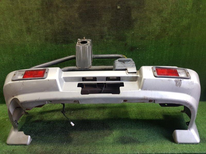 Бампер Mitsubishi Rvr N23WG 4G63 1993 задний (б/у)