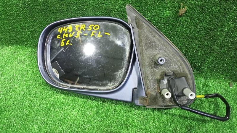 Зеркало Nissan Terrano TR50 ZD30DDTI 2001 переднее левое (б/у)