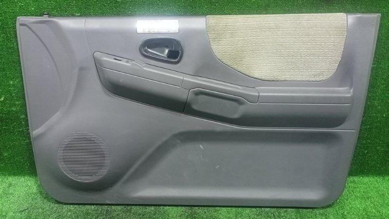 Обшивка дверей Mitsubishi Pajero Junior H57A 4A31 1996 передняя правая (б/у)