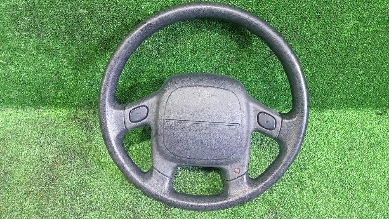 Руль с airbag Mitsubishi Pajero Junior H57A 4A31 1996 (б/у)