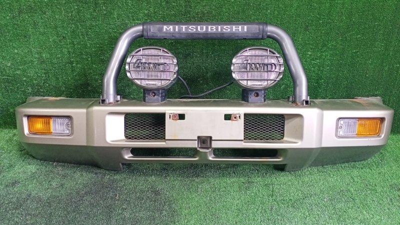 Бампер Mitsubishi Pajero Jr H57A 4A31 1996 передний (б/у)