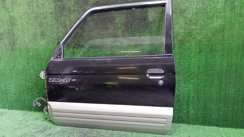 Дверь Mitsubishi Pajero Junior H57A 4A31 1996 передняя левая (б/у)