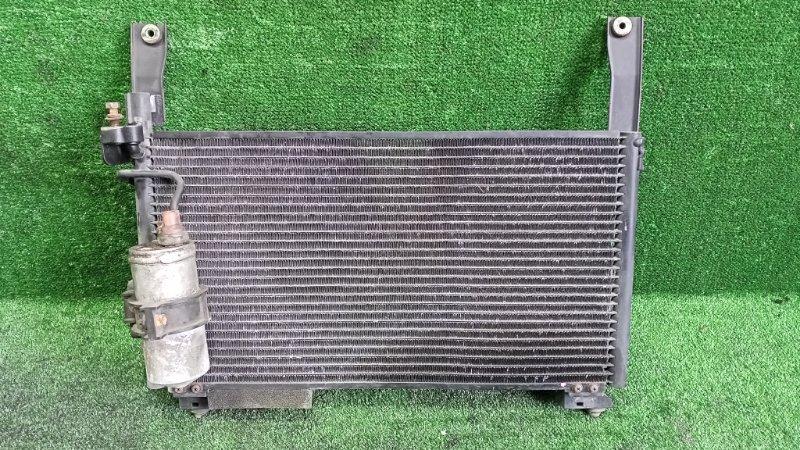Радиатор кондиционера Mitsubishi Pajero Junior H57A 4A31 1996 передний (б/у)