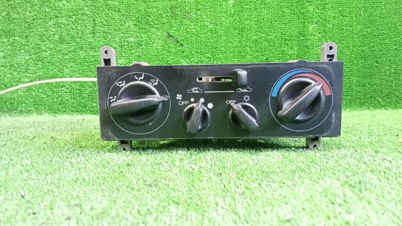 Блок управления климат-контролем Mitsubishi Pajero Jr H57A 4A31 1996 передний (б/у)