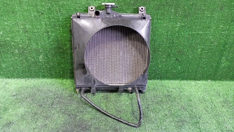Радиатор основной Mitsubishi Pajero Jr H57A 4A31 1996 передний (б/у)