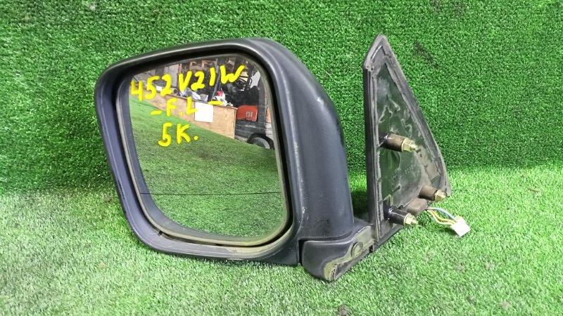 Зеркало Mitsubishi Pajero V21W 4G64 1996 переднее левое (б/у)