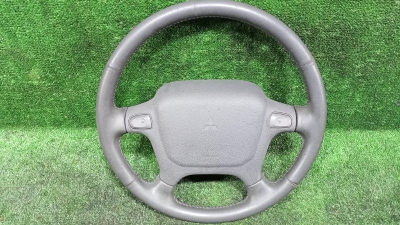 Руль с airbag Mitsubishi Pajero V21W 4G64 1996 (б/у)