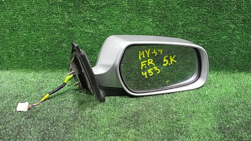 Зеркало Nissan Cedric HY34 VQ30DET 1999 переднее правое (б/у)