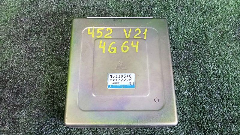 Блок управления efi Mitsubishi Pajero V21W 4G64 1996 (б/у)