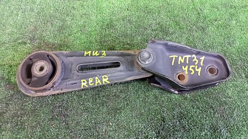 Подушка двигателя Nissan X-Trail TNT31 QR25DE 2007 задняя (б/у)