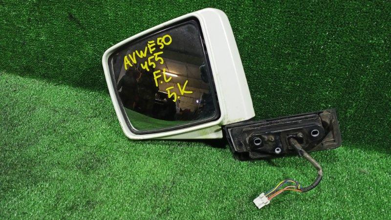 Зеркало Nissan Elgrand AVWE50 QD32ETI 1997 переднее левое (б/у)