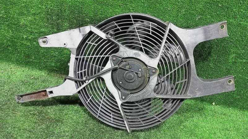 Вентилятор радиатора кондиционера Nissan Elgrand AVWE50 QD32ETI 1997 передний левый (б/у)