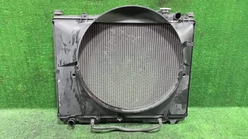 Радиатор основной Nissan Elgrand AVWE50 QD32ETI 1997 передний (б/у)