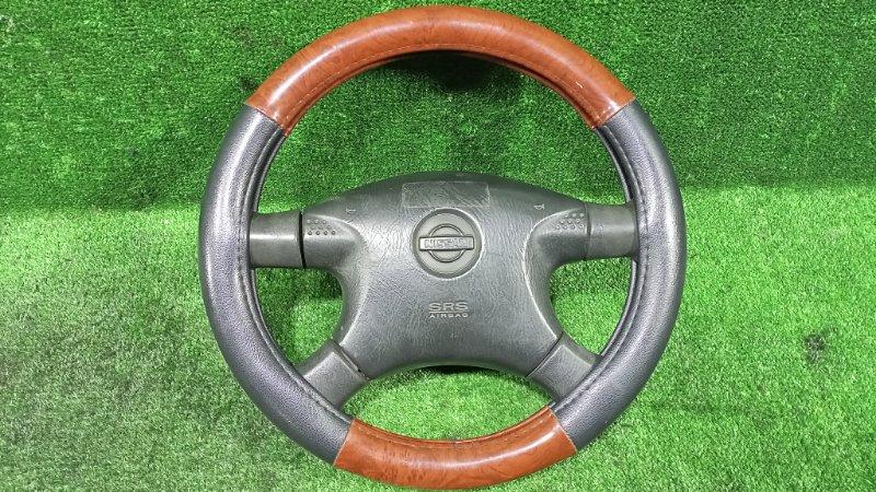 Руль с airbag Nissan Bassara JVU30 YD25DDTI 1999 (б/у)