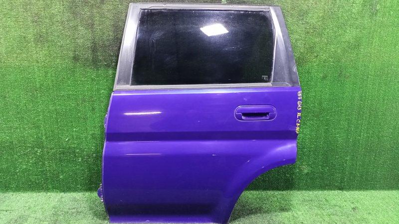 Дверь Honda Hr-V GH3 D16A 1999 задняя левая (б/у)