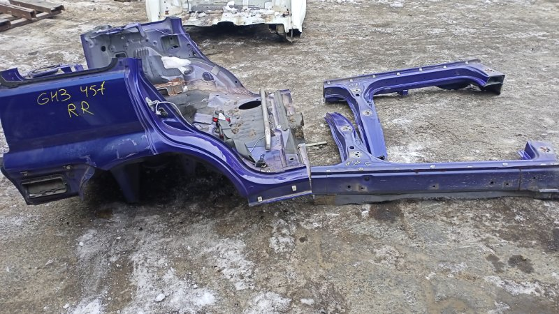 Крыло Honda Hr-V GH3 D16A 1999 заднее правое (б/у)