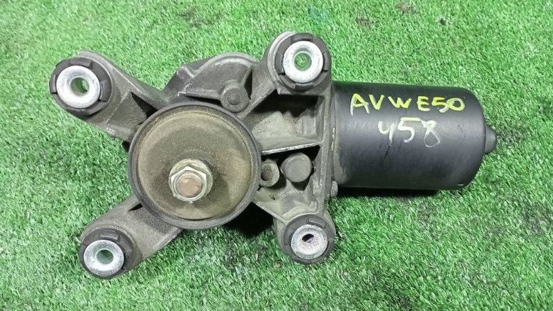 Мотор дворников Nissan Elgrand AVWE50 QD32ETI 1997 передний (б/у)