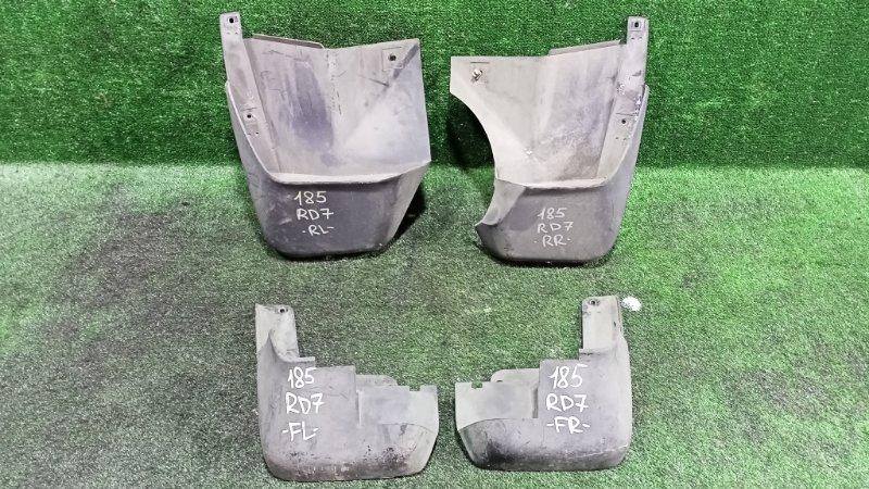 Брызговики комплект Honda Cr-V RD7 K24A 2005 (б/у)