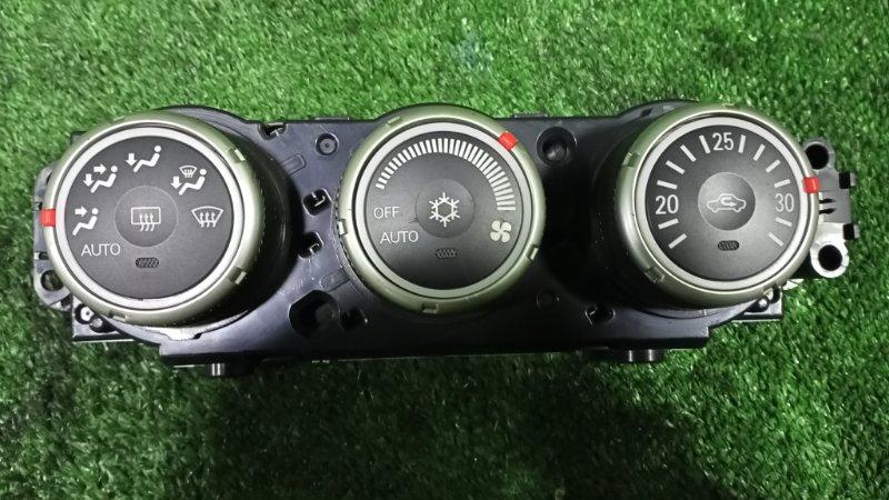 Блок управления климат-контролем Mitsubishi Galant Fortis CY4A 4B11 2007 (б/у)