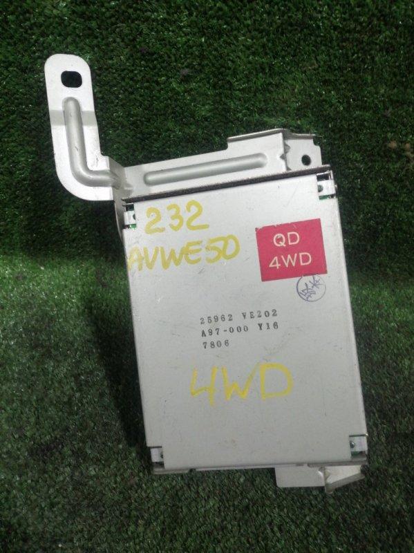 Блок управления 4wd Nissan Elgrand AVWE50 QD32ETI 1997 (б/у)