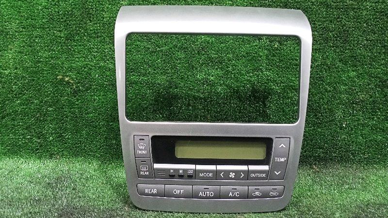 Блок управления климат-контролем Toyota Alphard ANH15 2AZFE 2003 (б/у)