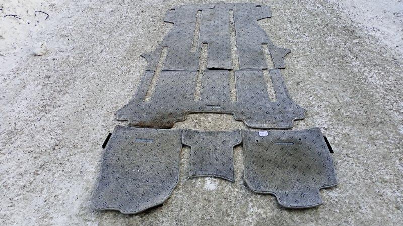 Коврики комплект Toyota Alphard ANH15 2AZFE 2003 (б/у)