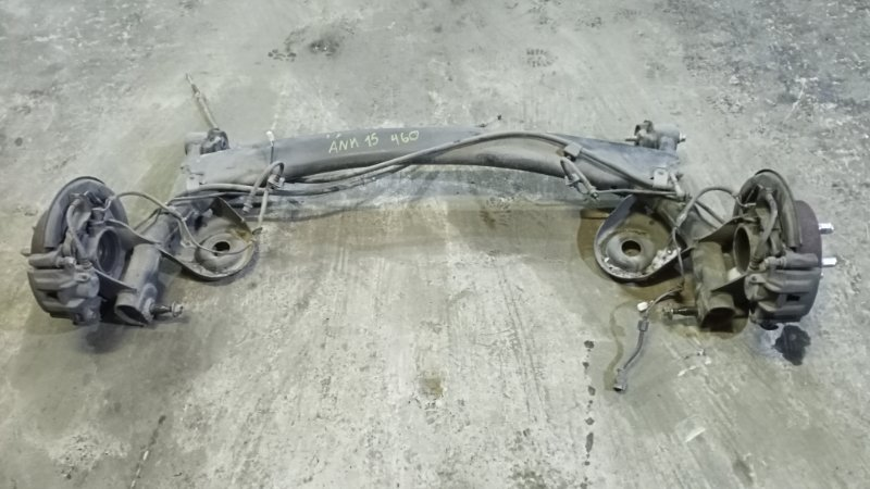 Балка подвески Toyota Alphard ANH15 2AZFE 2003 задняя (б/у)