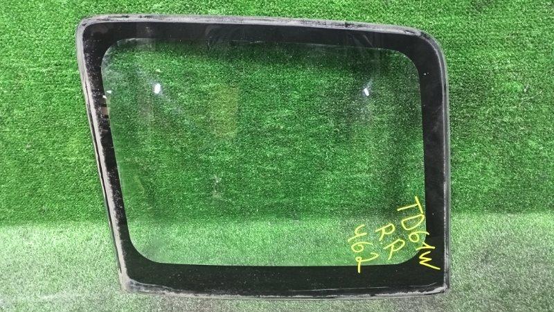Стекло собачника Suzuki Escudo TD61W H25A 1996 заднее правое (б/у)
