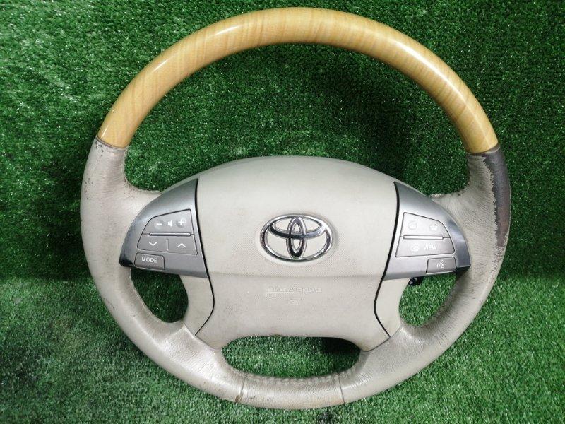 Руль с airbag Toyota Estima GSR55 2GRFE 2006 (б/у)