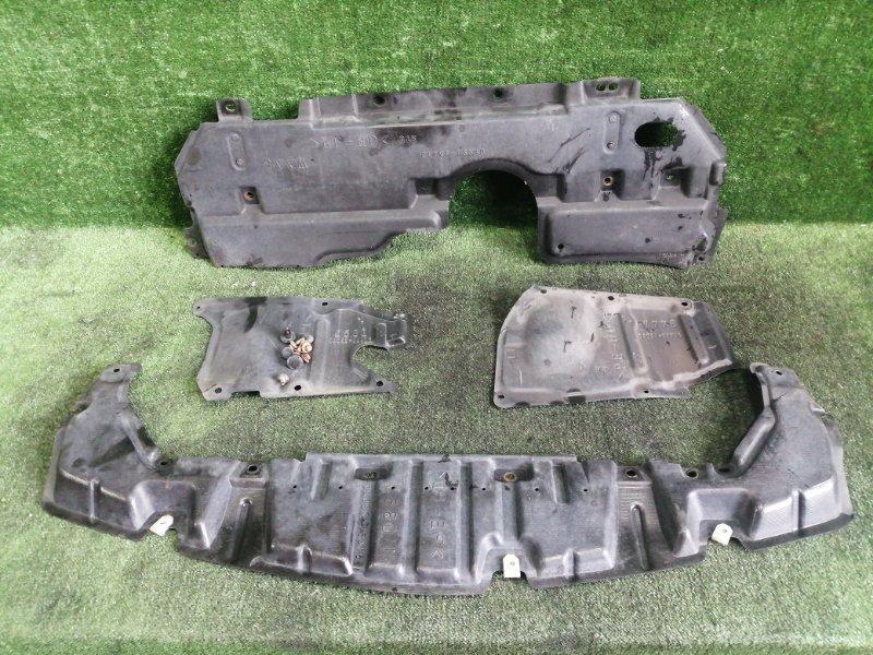 Защита двигателя Toyota Estima GSR55 2GRFE 2006 передняя (б/у)