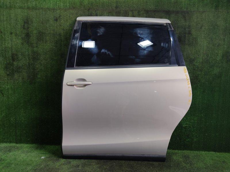 Дверь Toyota Estima GSR55 2GRFE 2006 задняя левая (б/у)
