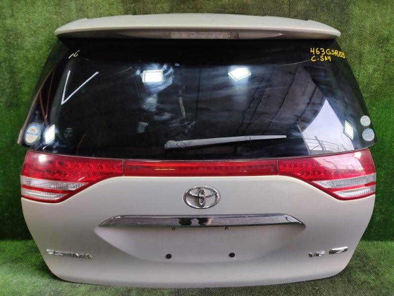 Дверь 5-я Toyota Estima GSR55 2GRFE 2006 задняя (б/у)