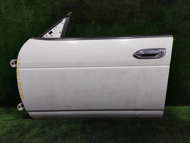 Дверь Nissan Laurel SC35 RD28 1998 передняя левая (б/у)
