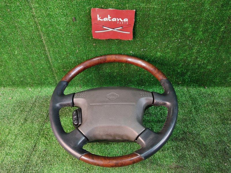 Руль с airbag Nissan Laurel SC35 RD28 1998 (б/у)