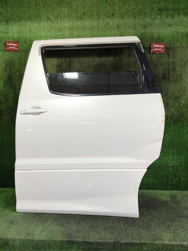 Дверь Toyota Alphard ANH15 2AZFE 2003 задняя левая (б/у)