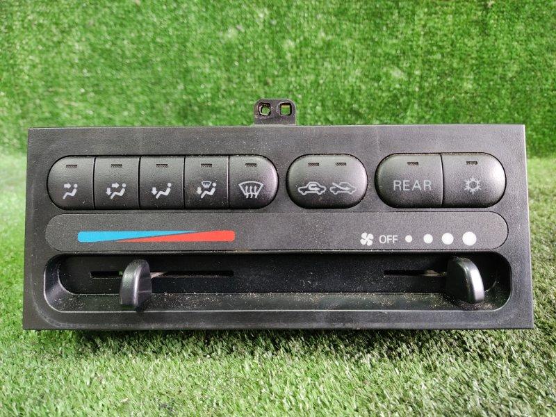 Блок управления климат-контролем Mitsubishi Delica PD6W 6G72 1999 передний (б/у)