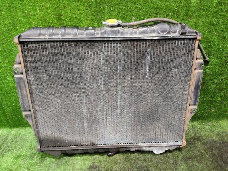 Радиатор основной Mitsubishi Pajero V43W 6G72 1991 (б/у)