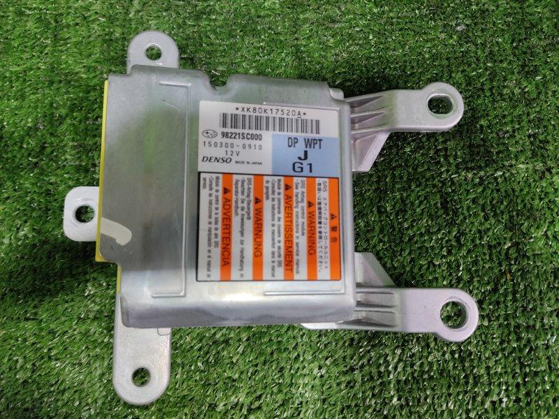 Блок управления airbag Subaru Forester SH5 EJ204 2008 (б/у)