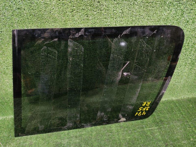 Стекло собачника Subaru Forester SF5 EJ205 2001 заднее правое (б/у)