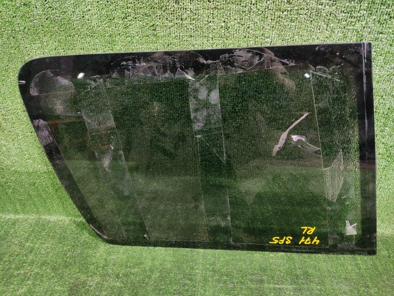 Стекло собачника Subaru Forester SF5 EJ205 2001 заднее левое (б/у)
